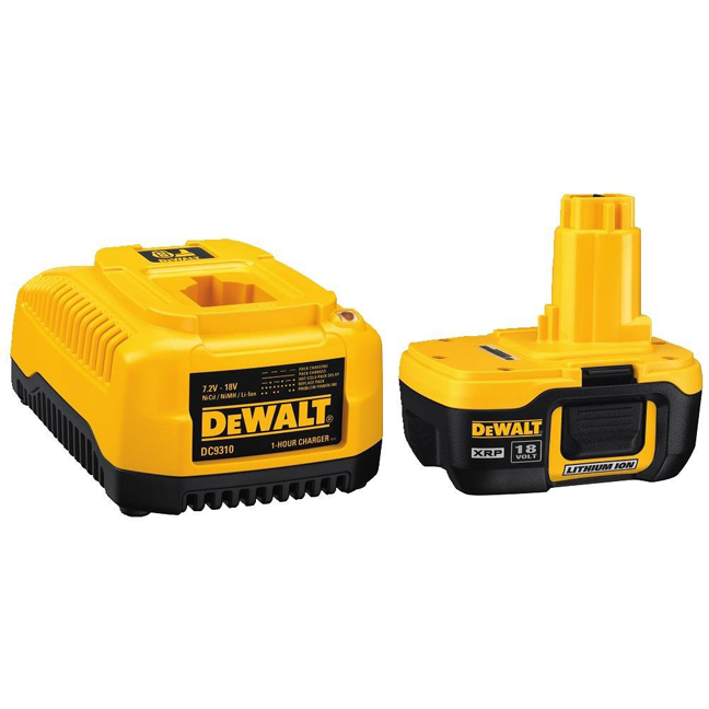 Dewalt Dc9182c 18v Xrp Pod Style Battery And Charger Bc