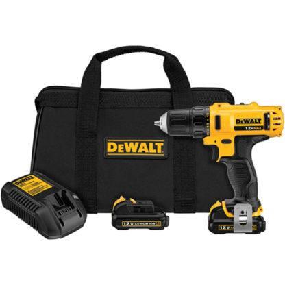 """DeWalt DCD710S2 12V MAX 3/8"""" Drill Driver Kit"""