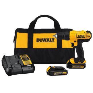 """DeWalt DCD771C2 20V MAX 1/2"""" Compact Drill Driver Kit"""