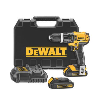 DeWalt DCD785C2 20V MAX Compact Hammerdrill Kit
