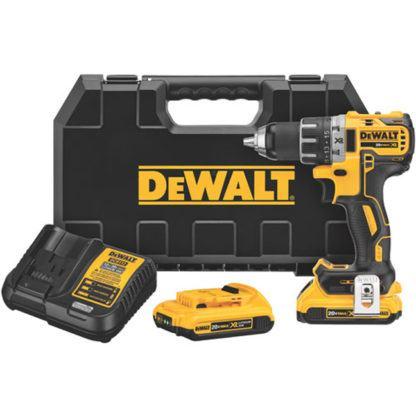 DeWalt DCD791D2 20V MAX XR Brushless Compact Drill Driver Kit