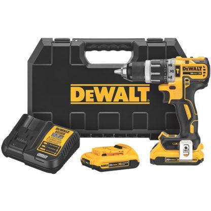 DeWalt DCD796D2 20V MAX XR Brushless Compact Hammerdrill Kit