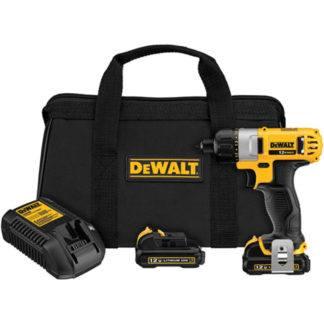 """DeWalt DCF610S2 12V MAX 1/4"""" Screwdriver kit"""