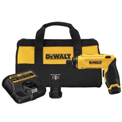 DeWalt DCF680N2 8V MAX Gyroscopic Screwdriver Kit