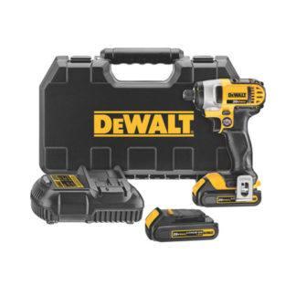 "DeWalt DCF885C2 20V MAX 1/4"" Impact Driver Kit"