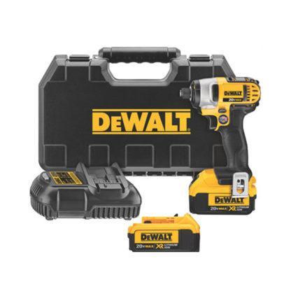 "DeWalt DCF885M2 20V MAX 1/4"" Impact Driver Kit"