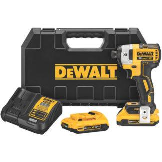 "DeWalt DCF887D2 20V MAX XR Brushless 1/4"" 3-Speed Impact Driver"
