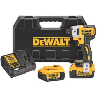 "DeWalt DCF887M2 20V MAX XR Brushless 1/4"" 3-Speed Impact Driver"
