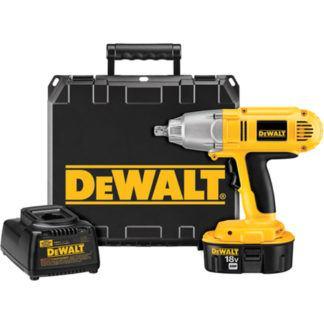 "DeWalt DW059K-2 1/2"" 18V XRP Impact Wrench Kit"