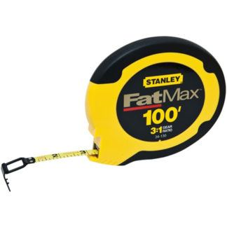 Stanley 34-130 100ft FatMax Steel Long Tape