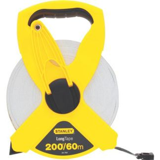 Stanley 34-794 60m/200ft Fiberglass Long Tape