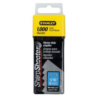 "Stanley TR705T 1,000 pc 5/16"" Heavy Duty Staples"