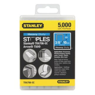 "Stanley TR706-5C 5,000 pc 3/8"" Heavy Duty Staples"