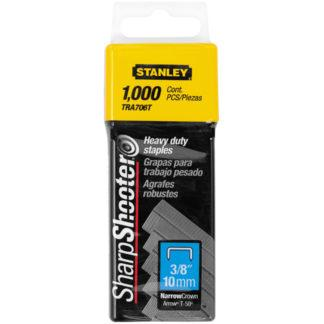 "Stanley TR706T 1,000 pc 3/8"" Heavy Duty Staples"