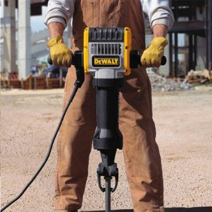 DeWalt D25980K Pavement Breaker with Hammer Truck and Steel 2
