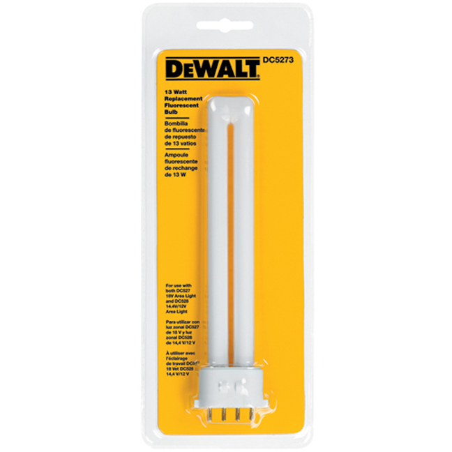 Dewalt Dc5273 13 Watt Fluorescent Bulb For Dc527 And Dc528