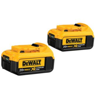DeWalt DCB204-2 20V MAX Premium XR Battery 2-Pack