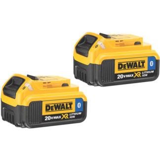 DeWalt DCB204BT-2 20V MAX XR Battery with Bluetooth 2-pack