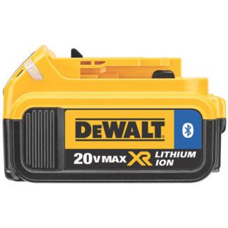 DeWalt DCB204BT 20V MAX XR Battery with Bluetooth