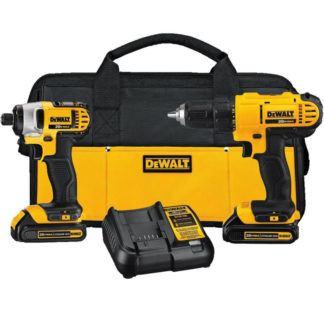 DeWalt DCK240C2 20V MAX 2 Tool Combo Kit
