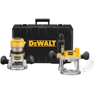 DeWalt DW616PK 1-3/4 HP Fixed Base Plunge Router Combo Kit