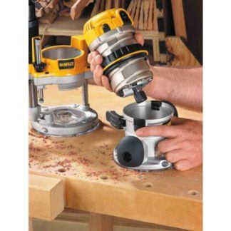 DeWalt DW618 EVS Fixed Base Router with Soft Start 7