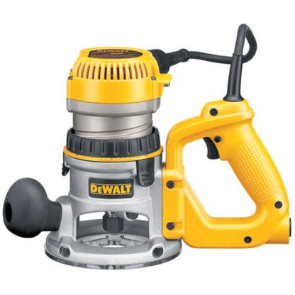 DeWalt DW618D 2-1/4 HP EVS D-Handle Router with Soft Start