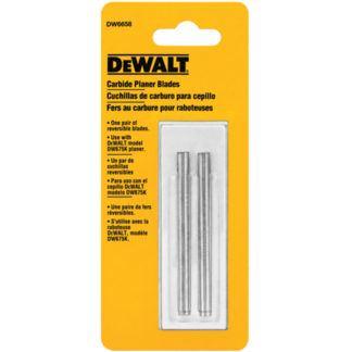 DeWalt DW6658 Reversible carbide planer blades