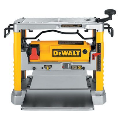 "DeWalt DW734 12-1/2"" Thickness Planer with Three Knife Cutter-Head"