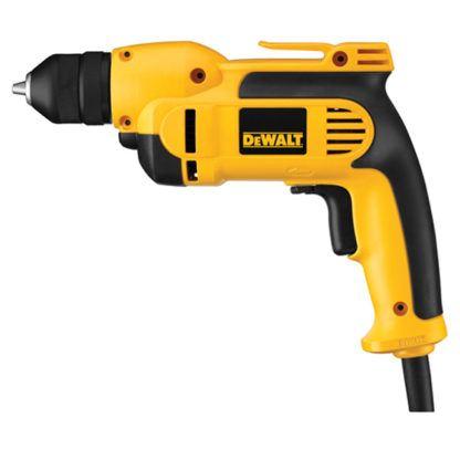 """DeWalt DWD112 3/8"""" VSR Pistol Grip Drill with Keyless Chuck"""