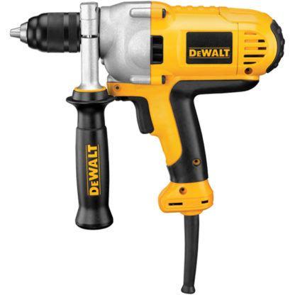 "DeWalt DWD215G 1/2"" VSR Mid-Handle Grip Drill with Keyless Chuck"