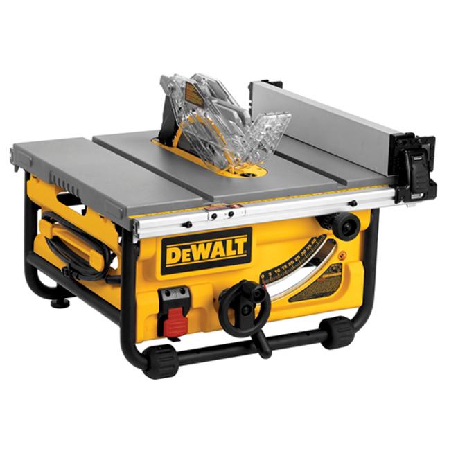 "DeWalt DWE7480 10"" Compact Job Site Table Saw"