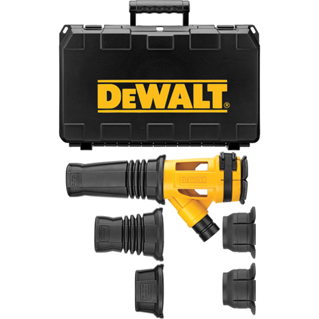 DeWalt DWH053K Large Hammer Dust Extraction - Chiseling