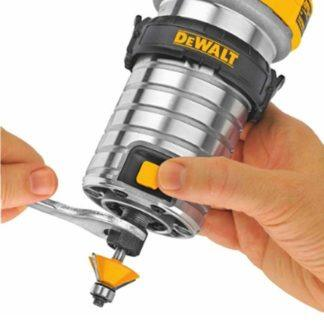 DeWalt DWP611 Max Torque Variable Speed Compact Router with LED's 10