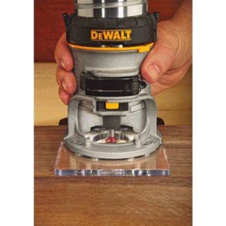 DeWalt DWP611 Max Torque Variable Speed Compact Router with LED's 7