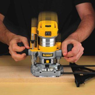 DeWalt DWP611PK Max Torque Variable Speed Compact Router Combo Kit with LED's 2