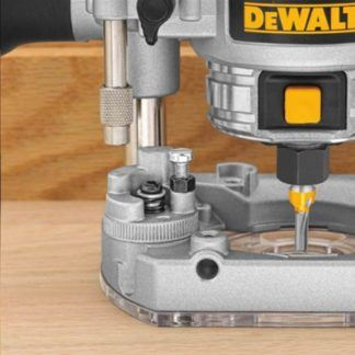 DeWalt DWP611PK Max Torque Variable Speed Compact Router Combo Kit with LED's 3