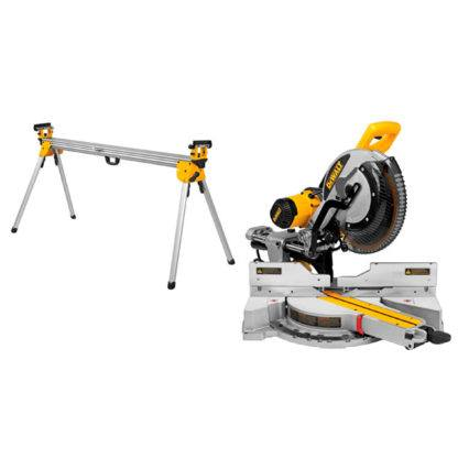 "DeWalt DWS780LST 12"" Mitre Saw with Long Stand"