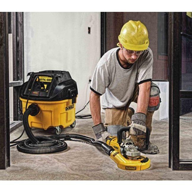 Dewalt Dwv010 8gal Hepa Rrp Dust Extractor W Auto Filter