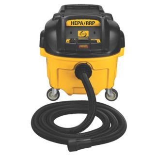 DeWalt DWV010 8 Gallon HEPA RRP Dust Extractor with Automatic Filter Cleaning
