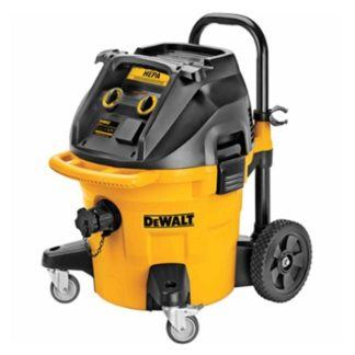 DeWalt DWV012 10 Gallon Wet Dry HEPA Dust Extractor with Automatic Filter Cleaning 6