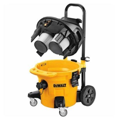 DeWalt DWV012 10 Gallon Wet Dry HEPA Dust Extractor with Automatic Filter Cleaning 7