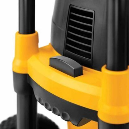DeWalt DWV012 10 Gallon Wet Dry HEPA Dust Extractor with Automatic Filter Cleaning 8