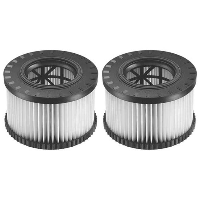 DeWalt DWV9330 Replacement HEPA Filter Set For DWV010 & DWV012 Dust Extractors
