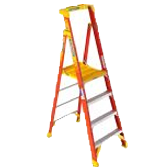 Werner PD6204CA 4FT Type IA Fiberglass Podium Ladder