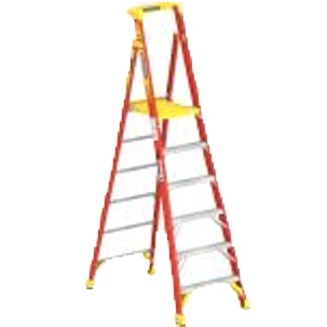 Werner PD6206CA 6FT Type IA Fiberglass Podium Ladder
