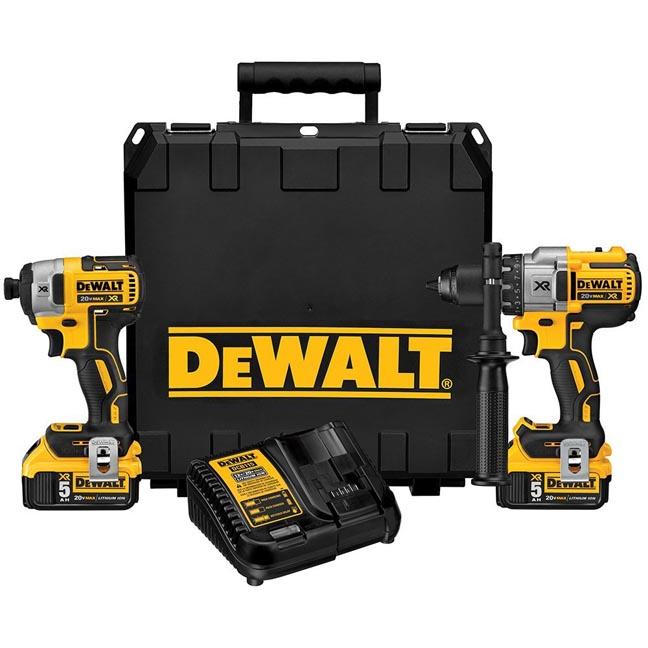 DeWalt DCK299P2 20V Max XR 2-Tool Combo Kit