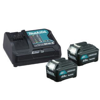Makita 197632-3 12V MAX CXT 4.0 Ah Battery & Rapid Charger Kit
