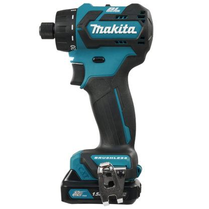 """Makita DF032DSYE 1/4"""" Hex 12 Drill Driver with Brushless Motor"""