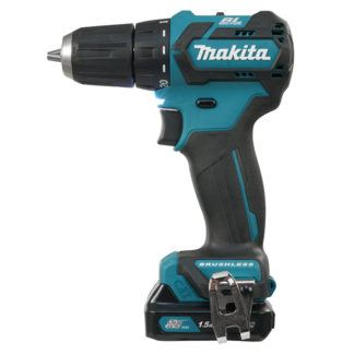 "Makita DF332DSYE 3/8"" 12V Drill Driver with Brushless Motor"